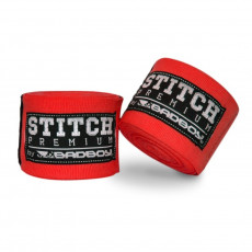 Bandes boxe MMA Bad Boy 5m Stitch Series rouge